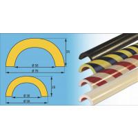 Prallschutz für Rohre im Innen- und Außenbereich, Profil F