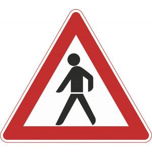 Fußgänger (Aufstellung rechts)