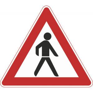 Fußgänger (Aufstellung links)
