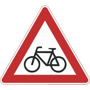 Radfahrer kreuzen (Aufstellung rechts)