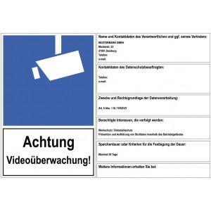 Achtung Videoüberwachung nach DSGVO
