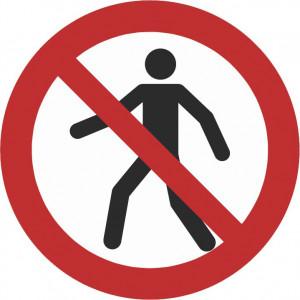 Für Fussgänger verboten