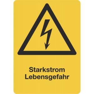 Starkstrom Lebensgefahr