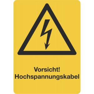 Vorsicht! Hochspannungskabel