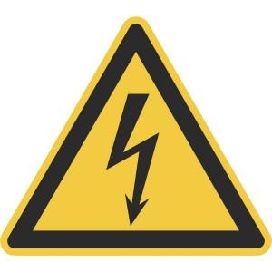 Warnung vor elektrischer Spannung, Rollenware
