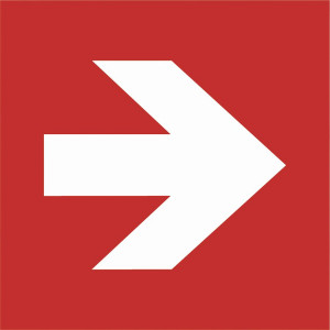 Richtungsangabe (Pfeil)