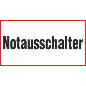 Notausschalter